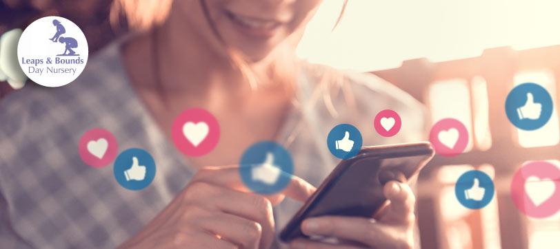 Follow Leaps & Bounds Day Nursery on social media