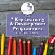 The 7 Key Learning & Development Programmes of the EYFS