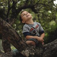 Nature stimulates children's imaginations and sense of wonder