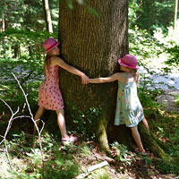 Nature has many spiritual benefits for children