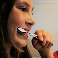 By the time they reach the age of 7, children should have picked up exactly how to brush their own teeth unaided