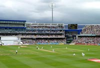 England vs India Test match at Edgbaston Cricket Ground, Birmingham (2011). Image: Jimmy Guano, CC BY-SA 3.0