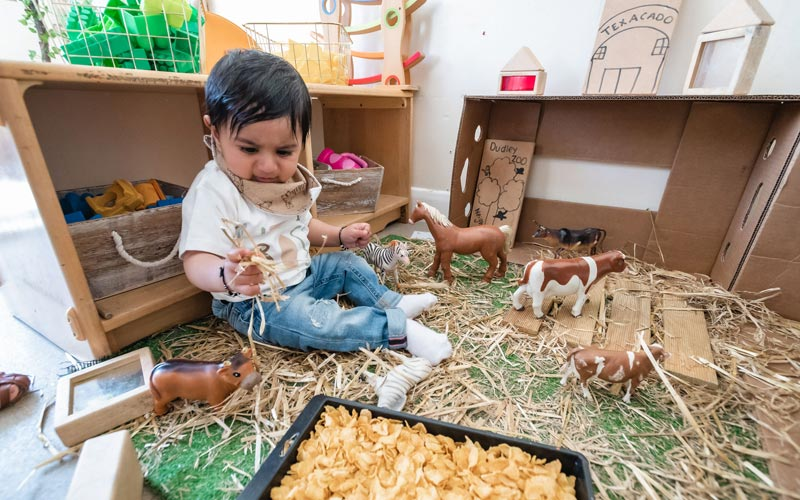 Our prices include nappies, if required, any extra-curricular activities, and food.