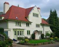 Edgbaston Arts and Crafts house by Herbert Tudor Buckland. IMAGE: Oosoom, CC BY-SA 3.0