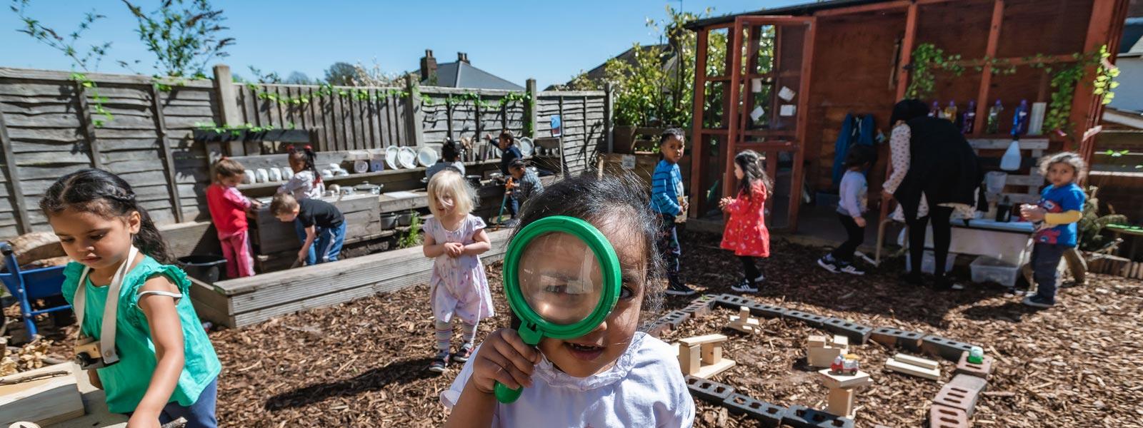 Nursery Facilities, Rooms & Nearby