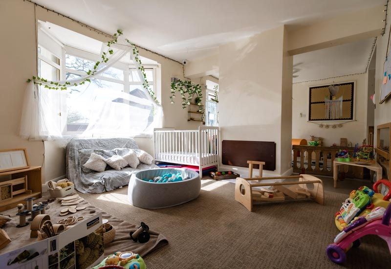 The Bumblebee Room (6-14 months)