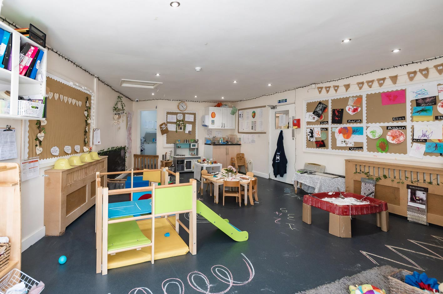 Children can get very creative at Leaps & Bounds Day Nursery in Edgbaston!