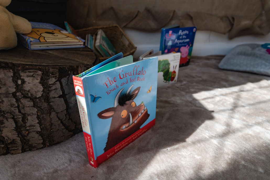 Children have access to a huge range of reading material.