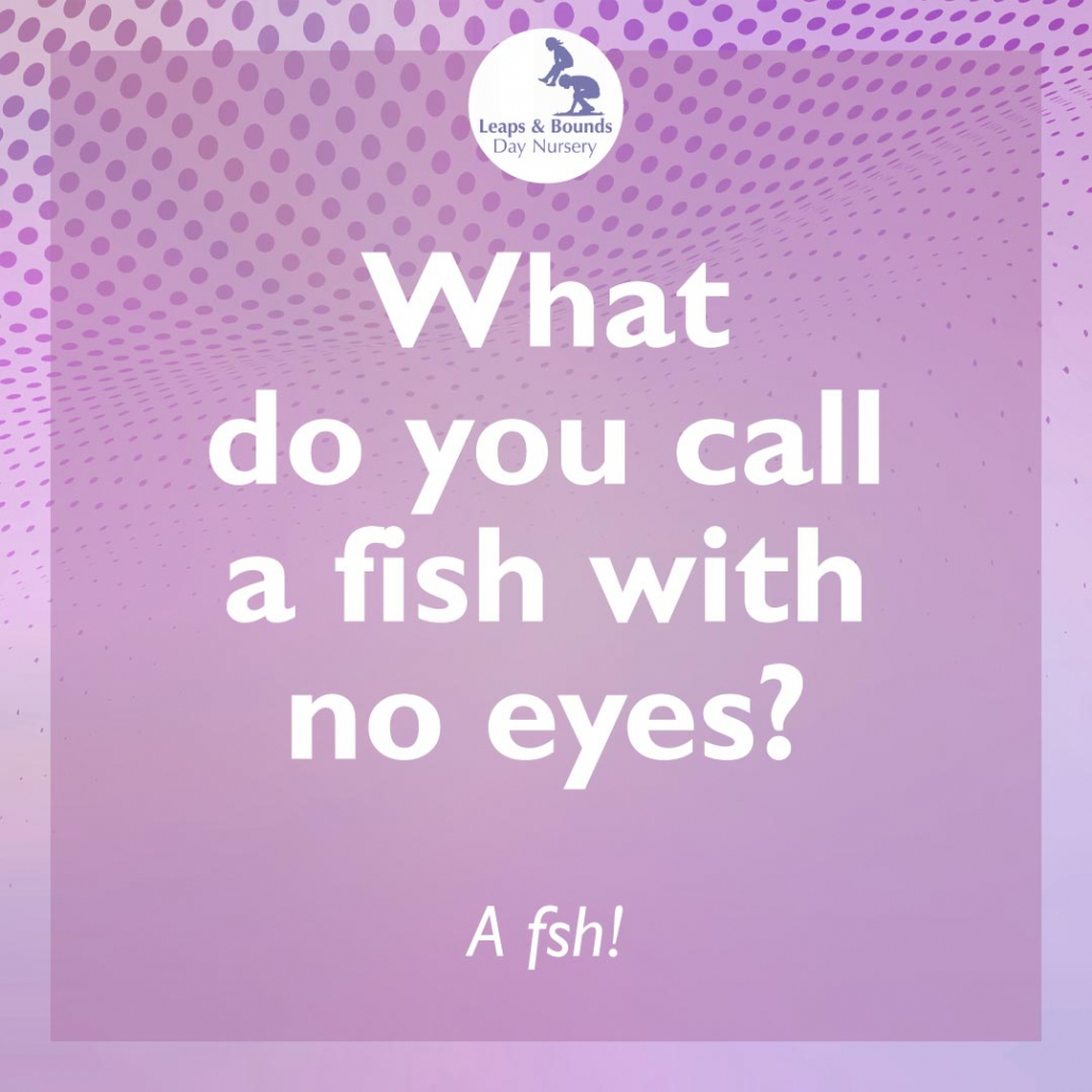 Fish joke for toddlers