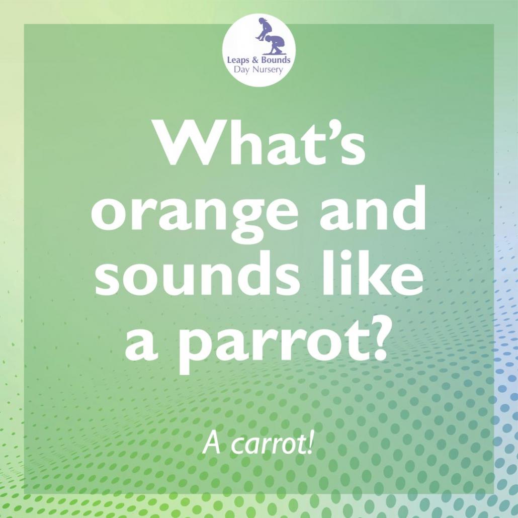 Parrot joke for under-fives