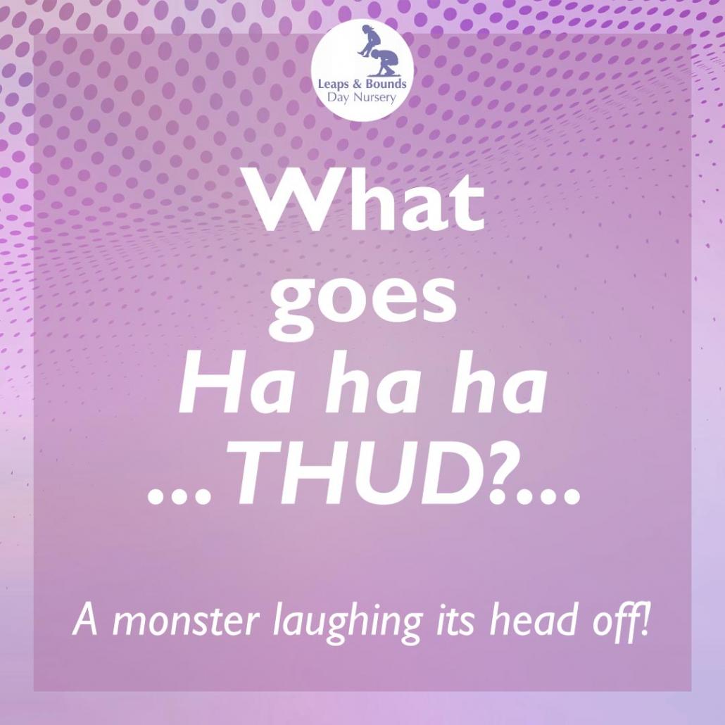 Thud joke for kids