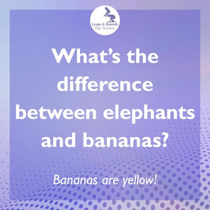 Elephant joke for children under five
