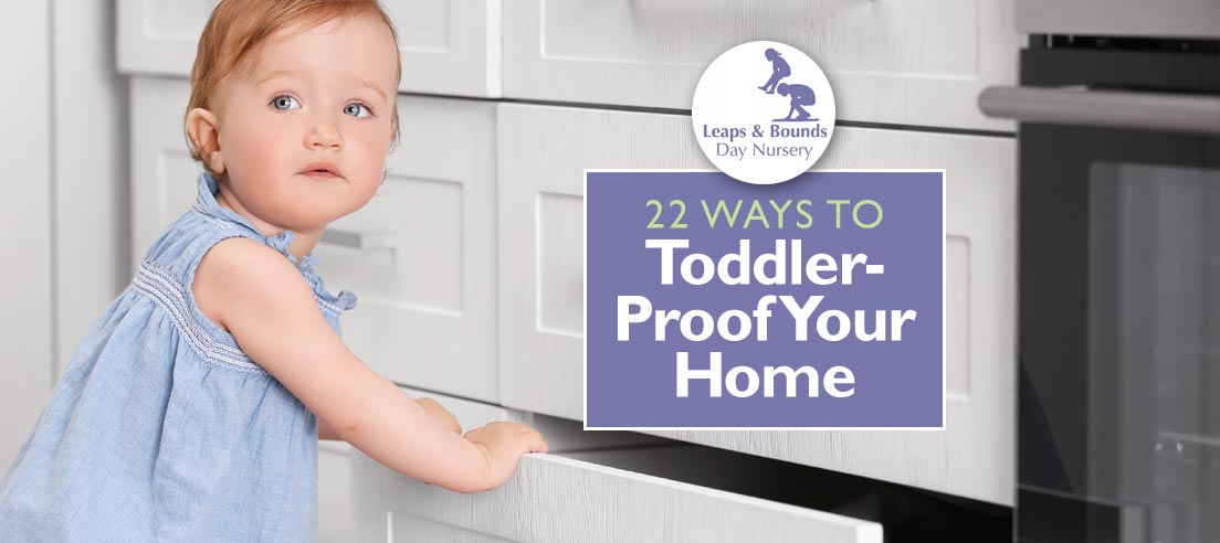 22 Ways to Toddler-Proof Your Home