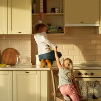 Young children naturally want to explore, but it can be dangerous!