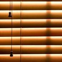 Pull cords on blinds and curtains are very dangerous if not secured, out of reach.